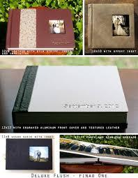 5 up photo album deluxe flush albums à la carte albums