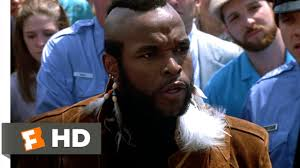 mr t feather earrings rocky iii 2 13 clip clubber heckles rocky 1982 hd