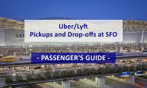 San Francisco International Airport Map passenger u0027s guide to uber pickups and drop offs at sfo