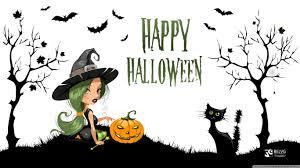 witch on halloween hd desktop wallpaper high definition