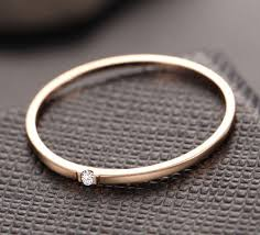 thin gold wedding band 18k gold wedding band with single chic r me