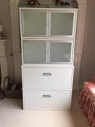 ikea effektiv file cabinet ikea effektiv filing cabinet with storage cabinets above in