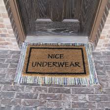 funny doormat operation home