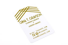 clear buisness cards 30 pt clear plastic business cards gold foil stamp 2 print