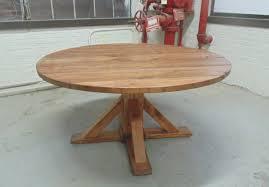 washington round dining table reclaimed wood custom