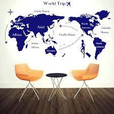 Decorative Wall Maps The World Led World Map Decoration
