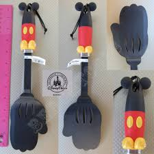 mickey mouse kitchen appliances new authentic disney parks mickey mouse body parts spatula flipper