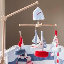 mobile chambre enfant mobile d éveil pour bébé marin décoration chambre bébé jurassien