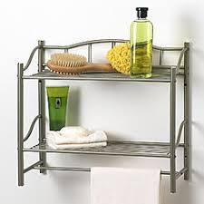 Bathroom Shelves With Towel Rack Bathroom Wall Shelf With Towel Bar