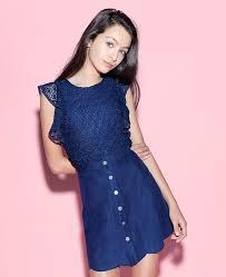junior denim dress dressed for less
