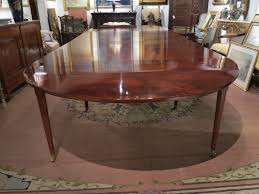 mahogany dining room table a louis xvi mahogany dining table le trianon antiques