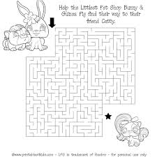 printable littlest pet shop maze printables kids u2013 free word