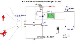 can you put a motion sensor on any light automatic room light using pir motion sensor detector security alarm