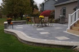 Cost Of Brick Patio Brick Paver Patios Driveways Cal U0026 Shan U0027s Landscape U0026 Design Inc