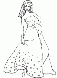 fashion model coloring pages cartoon barbie coloring page coloring home