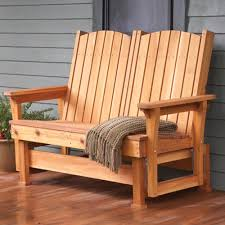 Diy Patio Furniture Plans Easy Breezy Glider Woodworking Plan From Wood Magazine For