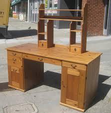 uhuru furniture u0026 collectibles sold pine computer desk w hutch