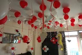 balloon centerpieces ideas birthday simple decoration at home room