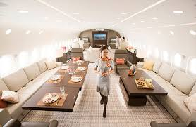 Private Plane Bedroom Boeing Dreamjet Inside Dreamliner 787 Plane Turned World U0027s