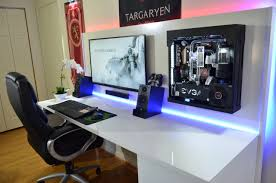 Gaming Desk Setups by Minimalsetups U201c Source U Fxformat Follow Minimal Setups On