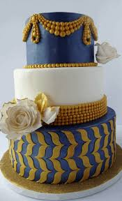 wedding cake tutorial blue and gold wedding cake tutorial marvelous molds