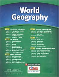 holt mcdougal world geography homeschool package 029573 images