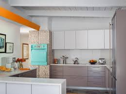 modern kitchen cabinet door midcentury modern kitchens hgtv