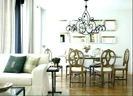Chandelier Above Dining Table Dining Table Chandelier Height Getanyjob Co