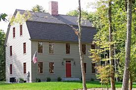 Gambrel Style Roof The Gambrel Colonial Exterior Trim And Siding The