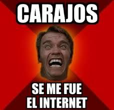 Memes De Internet - memes de se me fue el internet imagenes chistosas