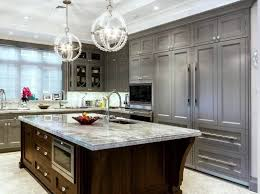 light gray stained kitchen cabinets quartz countertops gray stained kitchen cabinets lighting flooring
