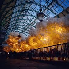 artist floats 100 000 balloons inside london u0027s covent garden