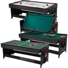 4 in 1 pool table fat cat pockey 7 3 in 1 game table walmart com basement
