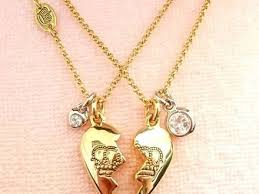 best friend gold necklace images 35 best friend necklaces juicy couture nib juicy couture pave jpg