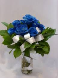 blue roses delivery blue roses bouquets prince george bc florist amapola blossoms