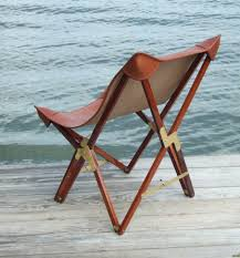 Folding Chair Leather Martin Safari Chair In Leather Products British Campaign