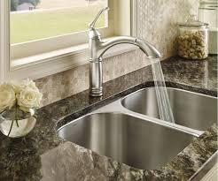 Moen Brantford Kitchen Faucet Faucet Com 7295srs In Spot Resist Stainless By Moen