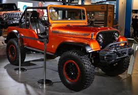custom jeep bumper jeep brings together three wrangler generations in stunning cj66