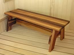 Indoor Wood Bench Plans Sauna Bench Progressive