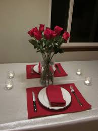How To Set A Table For Dinner by Romantic Dinner Table Place Setting With Ribbon Decoration And