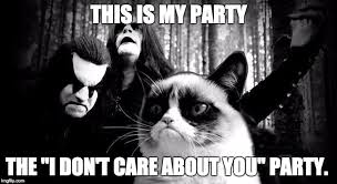 Black Metal Meme - black metal grumpy cat memes imgflip
