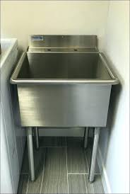 deep stainless steel utility sink stainless steel utility sink x single stainless steel utility sink