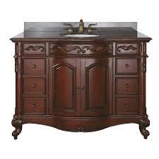 shop avanity provence antique cherry bathroom vanity common 48