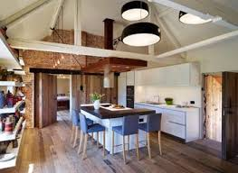 industrial style kitchen galley normabudden com