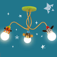 Kid Light Fixtures Modern Animal Giraffe Led Ceiling Light Lovely Kid Room Ceiling