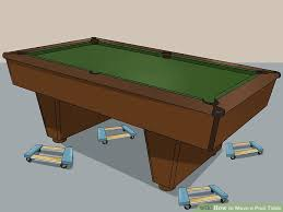 brunswick bristol 2 pool table 3 ways to move a pool table wikihow