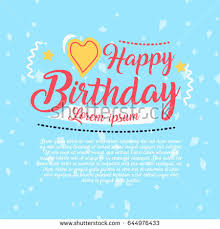 baby shower invitation card editable type stock vector 135110846