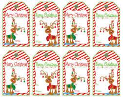 santa printable gift tags gift tags merry