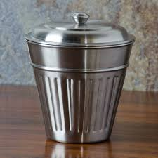 american metalcraft oscar2 32 oz mini stainless steel trash can