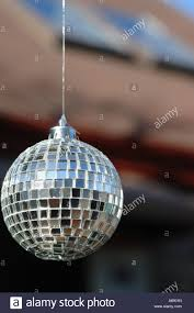 miniature mirror disco ornament hanging by
